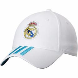 Mũ Nón thời trang thể thao Real trắng