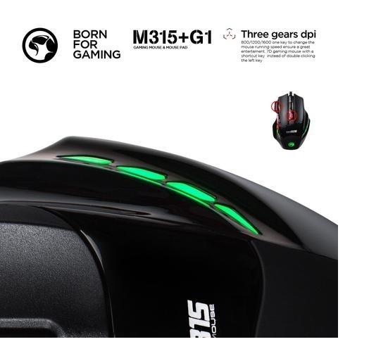Chuột Mouse và Mouse Pad MARVO M315 G1 Gaming 2