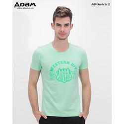 Áo T-Shirt A04-Xanh lơ 2