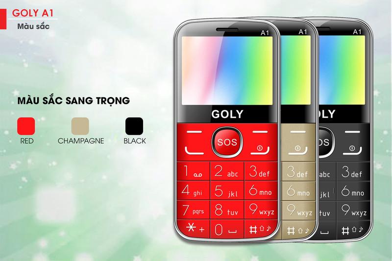 Điện thoại cho người lớn tuổi Goly A1 chính hãng 2