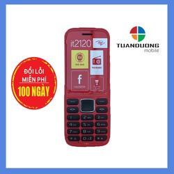 Điện thoại Itel IT2120 Đỏ Hàng Chính Hãng Đổi Lỗi 100 Ngày đầu nếu lỗi