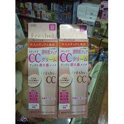Kem trang điểm CC Kanebo Freshel CC cream SPF 32 PA