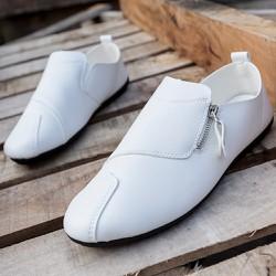Giày lười zip kéo kiểu dáng mới lạ độc đáo 634