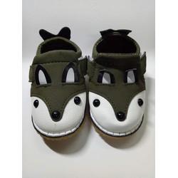Giày da mềm phong cách ngộ nghĩnh cho bé từ 1 tuổi đến 3 tuổi