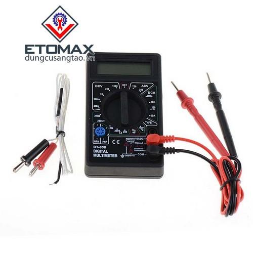 Đồng hồ đo điện vạn năng mini DT-838
