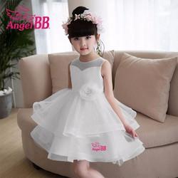 Đầm công chúa tùng xòe cao cấp cho bé đi chơi đi tiệc mùa xuân