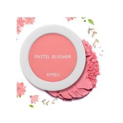 Phấn má hồng Apieu Pastel màu Cr01 hồng cam siêu yêu