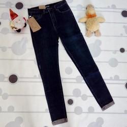 Quần jean dài bé gái lật lai hàng xuất khẩu cho bé từ 18-35kg