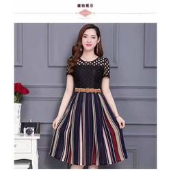 Váy ren trẻ trung cho các bạn gái