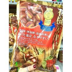 Hạt dẻ bóc vỏ gói đỏ hàng xách tay Nhật Bản
