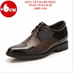 Giày Tăng Chiều Cao 6Cm - Hàng Đẹp Nhập Khẩu