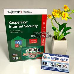 Phần mềm diệt virus Internet Security 3 MÁY