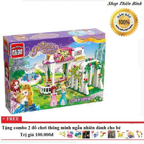 Xếp hình lego khu vườn trong mơ  xếp hình lego