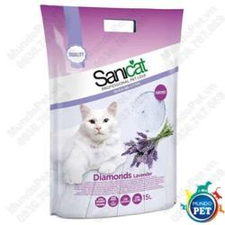 Sanicat - Cát thuỷ tinh hương oải hương 5L