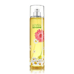 Nước hoa toàn thân Bath and Body Works - Love and Sunshine, 236ml