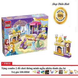 Xếp hình lego phòng ngủ công chúa| xếp hình lego