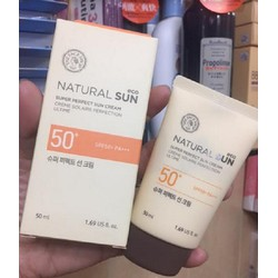 Kem chống nắng The Face Shop Natural Eco Sun 50ml
