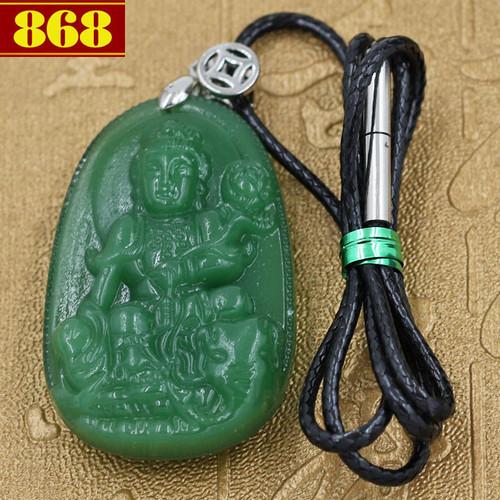 Dây đeo cổ Phổ Hiền Bồ Tát 4.3 cm xanh - 10543807 , 8283659 , 15_8283659 , 240000 , Day-deo-co-Pho-Hien-Bo-Tat-4.3-cm-xanh-15_8283659 , sendo.vn , Dây đeo cổ Phổ Hiền Bồ Tát 4.3 cm xanh