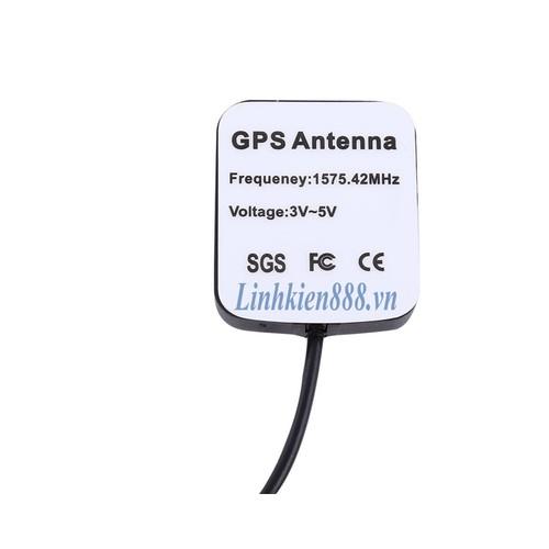 Anten GPS 1575.42Mhz SMA đực cáp 1,5m