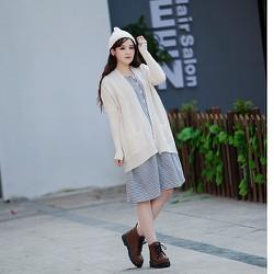 Áo khoác nữ, áo len cardigan , cardigan form dài