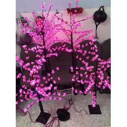 Cây hoa đào 1m2 có đèn led đẹp lung linh