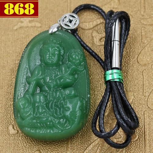 Dây đeo cổ Phổ Hiền Bồ Tát 4.3 cm xanh - 10543810 , 8283670 , 15_8283670 , 240000 , Day-deo-co-Pho-Hien-Bo-Tat-4.3-cm-xanh-15_8283670 , sendo.vn , Dây đeo cổ Phổ Hiền Bồ Tát 4.3 cm xanh