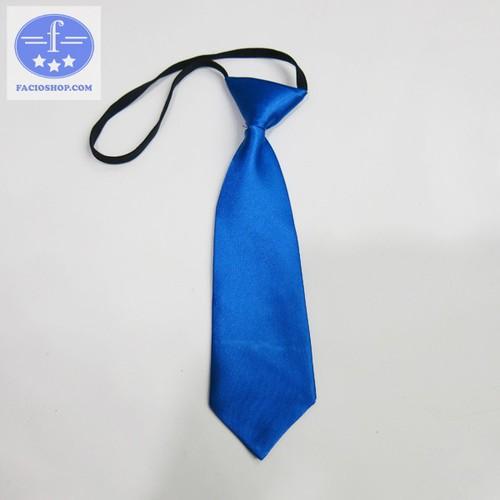 [Chuyên sỉ - lẻ] Cà vạt thắt sẵn nam Facioshop CF03 - bản 5.5cm