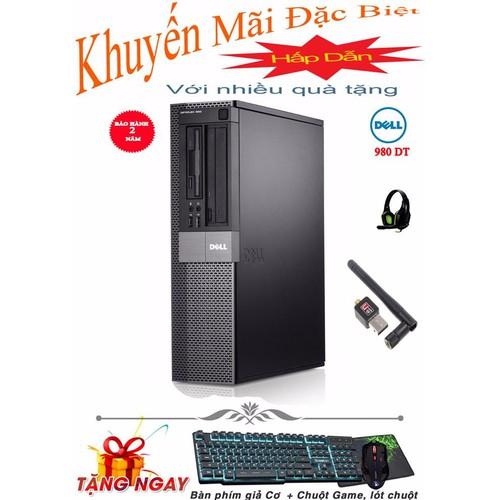 Thùng CPU DELL OPTIPLEX 980 DT core I3, Ram 8GB, HDD 500GB