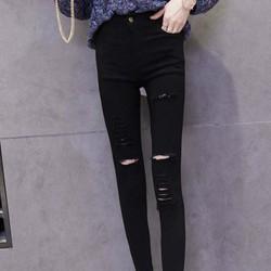 quần dài jean skinny rách cá tính Mã: QD1873