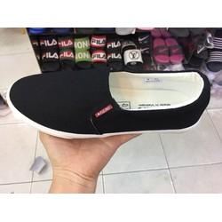 giày lười , giày xỏ nam chất vải cực êm chân