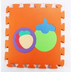 Thảm xốp lót sàn cho bé hình trái cây