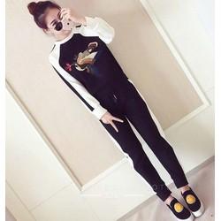 quần áo bộ hình con chim Mã: AA827