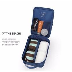 Túi đựng giày và đồ cá nhân tiện dụng cho đi du lịch, dã ngoại