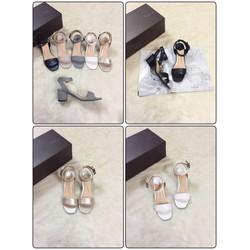 Giày sandal quai khóa chéo