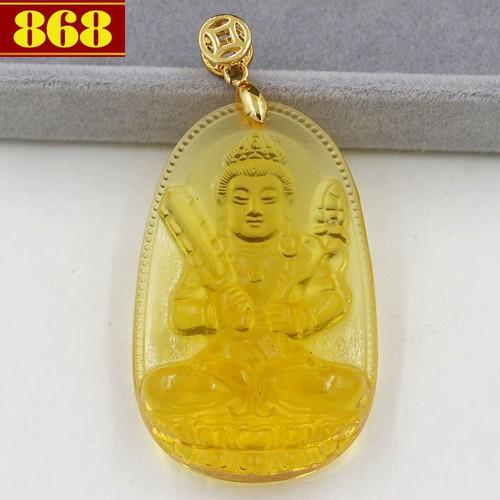 Mặt dây chuyền Phật Hư Không Tạng Bồ Tát - pha lê vàng 5cm - tuổi Sửu, Dần - 4415803 , 8270440 , 15_8270440 , 140000 , Mat-day-chuyen-Phat-Hu-Khong-Tang-Bo-Tat-pha-le-vang-5cm-tuoi-Suu-Dan-15_8270440 , sendo.vn , Mặt dây chuyền Phật Hư Không Tạng Bồ Tát - pha lê vàng 5cm - tuổi Sửu, Dần