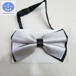 [Chuyên sỉ - lẻ] Nơ đeo cổ áo nam nữ Facioshop XT11 - bản 12cm