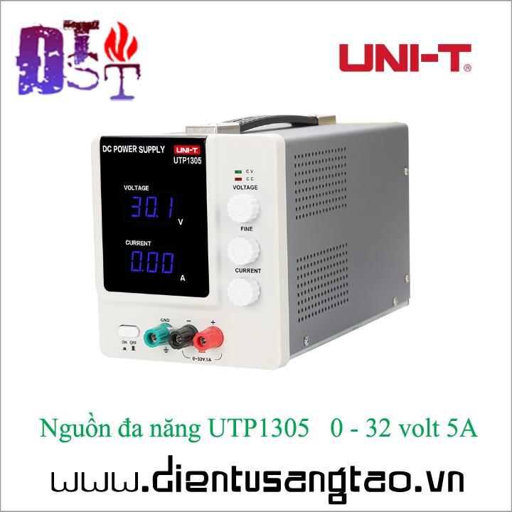 Nguồn đa năng UTP1305   0 - 32 volt 5A 4