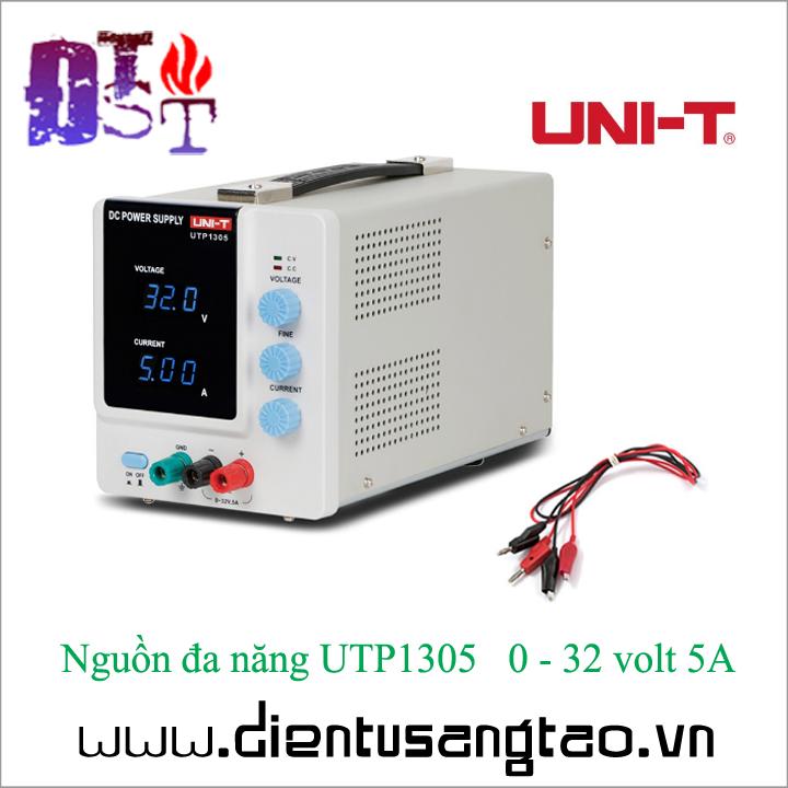 Nguồn đa năng UTP1305   0 - 32 volt 5A 2