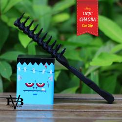 Sáp vuốt tóc 2Vee Hard Wax Hàn Quốc 90g + Tặng lược tạo kiểu cao cấp