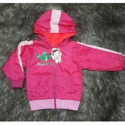 Áo khoác dành cho bé gái lót nỉ