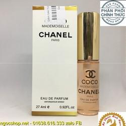 nước hoa nữ chanel Coco Mademoiselle 27ml cao cấp