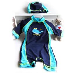 Đồ bơi bé trai liền thân - kèm nón bơi