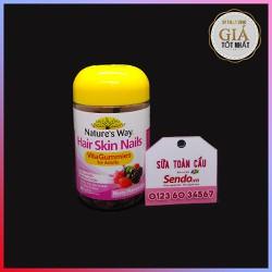 Kẹo dẻo chăm sóc da, móng, tóc Hair Skin Nails Vita Gummies For Adults
