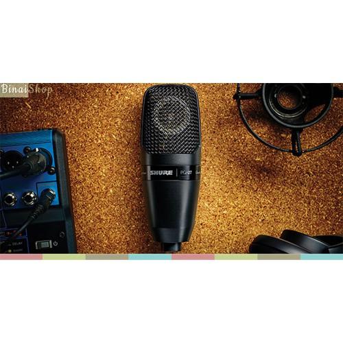 Micro thu âm màng thu siêu lớn Shure PGA27 - 10545455 , 8304221 , 15_8304221 , 5350000 , Micro-thu-am-mang-thu-sieu-lon-Shure-PGA27-15_8304221 , sendo.vn , Micro thu âm màng thu siêu lớn Shure PGA27