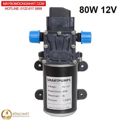 Bơm nước mini áp lực 12V 80W - 10545469 , 8304290 , 15_8304290 , 950000 , Bom-nuoc-mini-ap-luc-12V-80W-15_8304290 , sendo.vn , Bơm nước mini áp lực 12V 80W