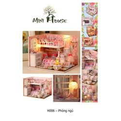 Mô hình nhà gỗ - Phòng công chúa