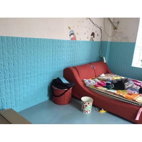 Xốp dán tường 3D màu xanh dương KT 77x70 cm - 10544426 , 8296234 , 15_8296234 , 45000 , Xop-dan-tuong-3D-mau-xanh-duong-KT-77x70-cm-15_8296234 , sendo.vn , Xốp dán tường 3D màu xanh dương KT 77x70 cm