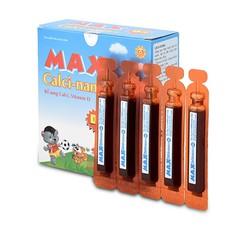 Thực phẩm bổ sung canxi Max Calci Nano D3 hộp 20 ống CX-2