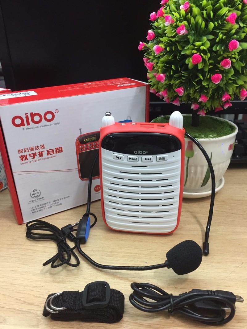 169k - Loa trợ giảng Usb thẻ nhớ Fm Aibo Un72 chính hãng kèm mic trợ giảng giá sỉ và lẻ rẻ nhất