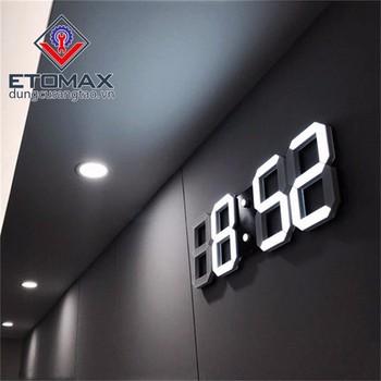 Đồng hồ điện tử LED 3D cao cấp - DHDTL3D